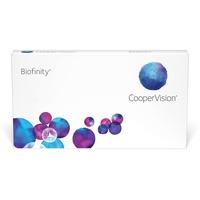 CooperVision Biofinity 6 St. / 8.60 BC / 14.00 DIA / -7.50 DPT