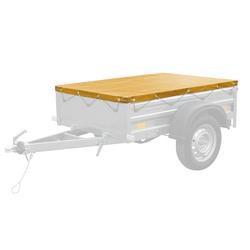 Gelbe PKW-Anhänger-Plane 150x106 für Anhänger Garden 150