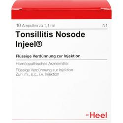 TONSILLITIS Nosode Injeel Ampullen 10 St.
