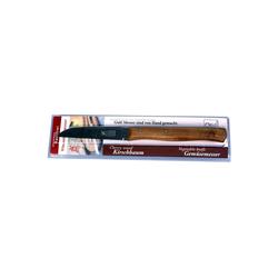 Windmühlenmesser Gemüsemesser Windmühlenmesser Solingen Küchenmesser 85mm mit Kirschbaum-Holzgriff