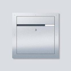 Siedle 210007721-00 F CL BF3 01 Durchwurfbriefkastensystem Stahl nicht rostend Silber