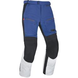 Oxford Mondial Motorrad Textilhose, grau-blau, Größe S
