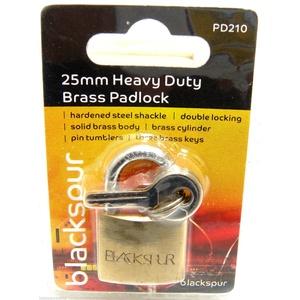 Messing Vorhängeschloss Mini Pad Lock Koffer Gepäck Pad Lock 2Schlüssel pro Schloss 25mm x 1