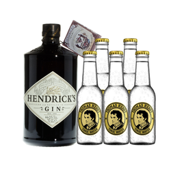 Hendricks Gin & Thomas Henry Tonic