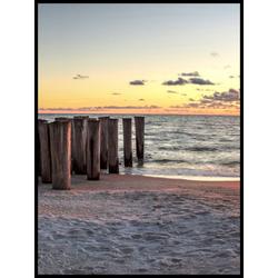 Poster BEACH FEELING 3(BH 30x40 cm)