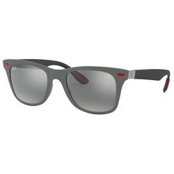 RAY BAN Sonnenbrille Ferrari RB4195M grau