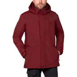 Jack Wolfskin Denali Flex Jkt M - indian red, Größe XL