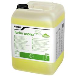 ECOLAB Turbo Usona Spezialwaschmittel, Flüssiges Spezialwaschmittel für Feinwäsche, 20 kg - Kanister