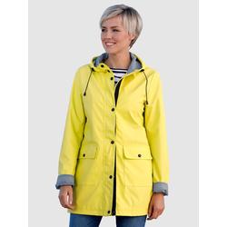 Dress In Regenjacke, mit Kapuze gelb Damen Regenjacken Anoraks Jacken Mäntel Regenjacke