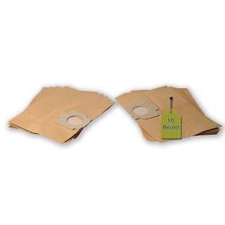 eVendix Staubsaugerbeutel 10 Staubsaugerbeutel Staubbeutel passend für Staubsauger Hanseatic 842153, passend für Hanseatic