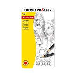 Eberhard Faber Bleistift Zeichenbleistifte, 12 Farben