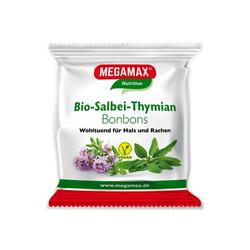 MEGAMAX Bio Salbei-Thymian Bonbons 85 g