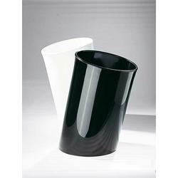 Papierkorb In Attesa Klein & More schwarz, Designer Enzo Mari, 41 cm