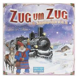 Days of Wonder Spiel, Days of Wonder Zug um Zug Skandinavien (deutsch)