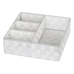 WENKO Aufbewahrungsbox weiß