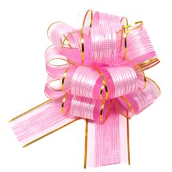 Geschenkschleife Deko Schleife für Geschenke Tüten Zuckertüte Weihnachten Geschenkdeko - rosa