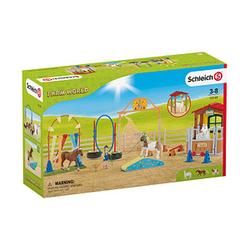 Schleich® Farm World 72149 Agility bei der Pferdebox Spielfiguren-Set