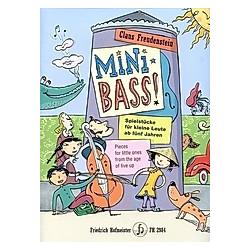 Mini Bass  für Kontrabass. Claus Freudenstein  - Buch