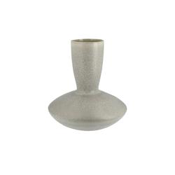 Vase ¦ grau ¦ Steinzeug Ø: 27