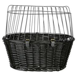 Trixie Fahrradkorb mit Gitter schwarz