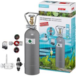 EHEIM Aquariumpflege SET600, (Set), CO²-Düngeanlage mit 2.000g Flasche, Mehrweg