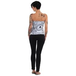 Tijuana Bandeau Shirt (Größe: M, Farbe: weiß)