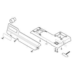 PROXXON 28092-101 Maschinenfuß für Dekupiersäge DSH