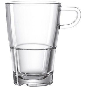 LEONARDO Latte-Macchiato-Glas SENSO (6-tlg), Hitzebeständig und widerstandsfähig