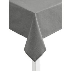 Tischdecke grau oval - 140 cm x 190 cm