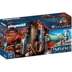 Playmobil® Konstruktions-Spielset Burnham Raiders Feuerruine (70539), Novelmore, ; Made in Germany