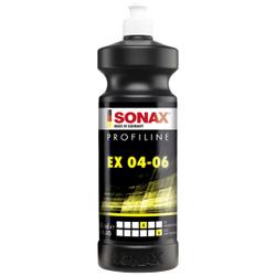SONAX PROFILINE EX 04-06 Profipolitur, Spezielle Profipolitur für die Exzenterverarbeitung, 1000 ml - Flasche
