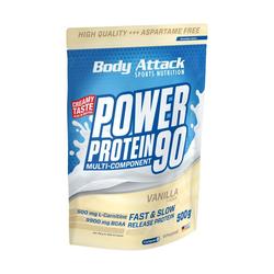 Body Attack - Power Protein 90 - 500g Geschmacksrichtung Milchreis