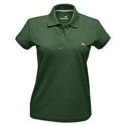Hunter Damen-Poloshirt grün, Größe: L