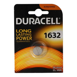 Duracell Lithium Batterie DL1632 IEC CR1632
