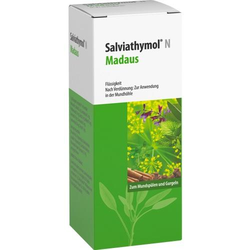 SALVIATHYMOL N Madaus Tropfen 100 ml