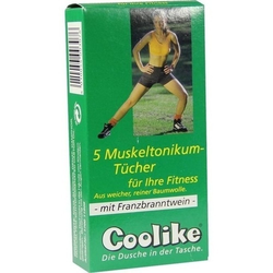 COOLIKE Muskeltonikum Tuch m.FBW 5 St