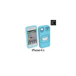 Silikonhülle mit Gesicht für iPhone