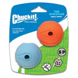 Chuckit! Whistler Ball Hundeball 2er Pack, Größe: S