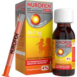 NUROFEN Junior Fieber-u.Schmerzsaft Erdbe.40 mg/ml 150 ml