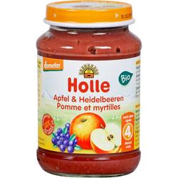 HOLLE Apfel & Heidelbeere 190 g