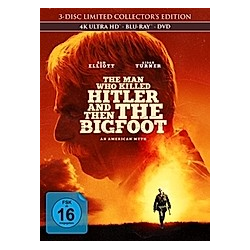 The Man Who Killed Hitler and Then The Bigfoot Limited Mediabook
