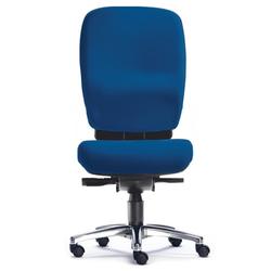 ZERO 15 - High End Bürostuhl Blau Stoff