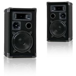 300 Watt 3-Wege Box PA-Lautsprecher DJ-Pro 8 EINZELBOX