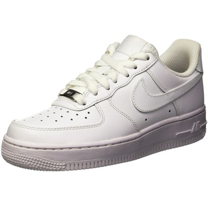 Nike Unisex Air Force 1 '07 Turnschuh, Weiß, 40.5 EU
