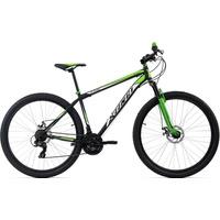 KS-CYCLING KS Cycling MTB Hardtail Twentyniner 29 Zoll Xtinct 21 Gang Shimano Tourney Schaltwerk, Kettenschaltung schwarz
