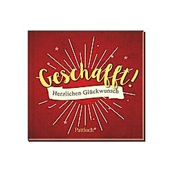 Geschafft! - Buch