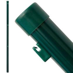 Zaunpfosten Pfosten 150cm Zaunpfahl Ø34mm Metall-Pfosten inkl. Drahthalter | zum Einbetonieren