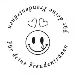 Hochzeitsstempel - Freudentränen - Smiley (Ø 40 mm)