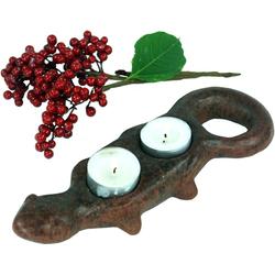 Guru-Shop Windlicht Kerzenhalter, Teelichthalter Keramik Nr.10