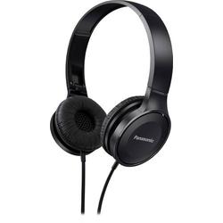 Panasonic RP-HF100ME Reise On Ear Kopfhörer On Ear Faltbar, Headset Schwarz